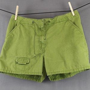 Express Bleus Shorts Size 7 Apple Green Juniors
